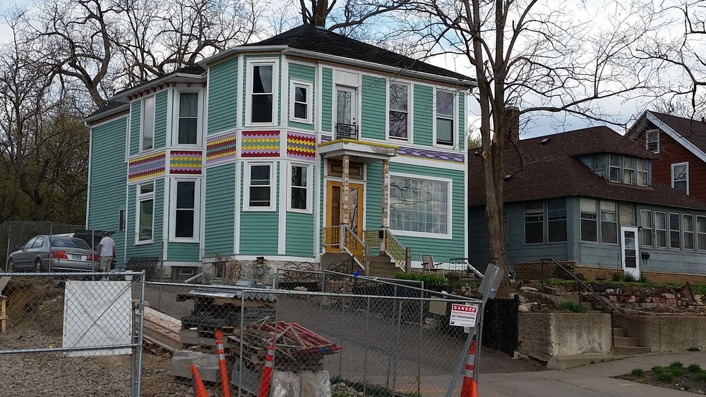 One of the many newly-renovated historic homes in St. Paul
