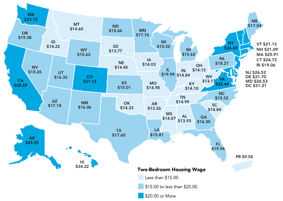 Graphic from  CityLab . Data from National Low Income Housing Coalition.