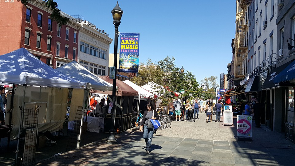 Street festival in Hoboken, NJ (Photo by Andrew Price)