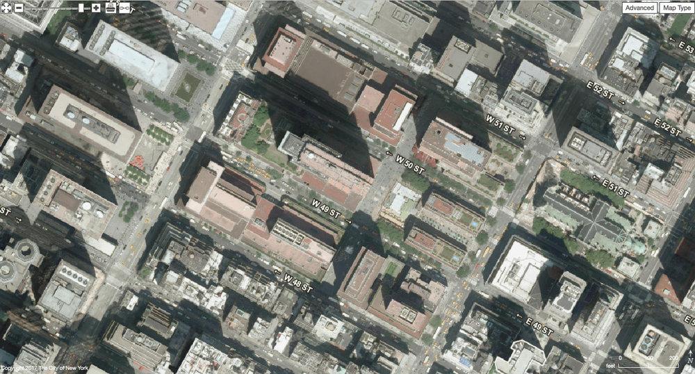 Rockefeller Center site in 2012. (Source.)
