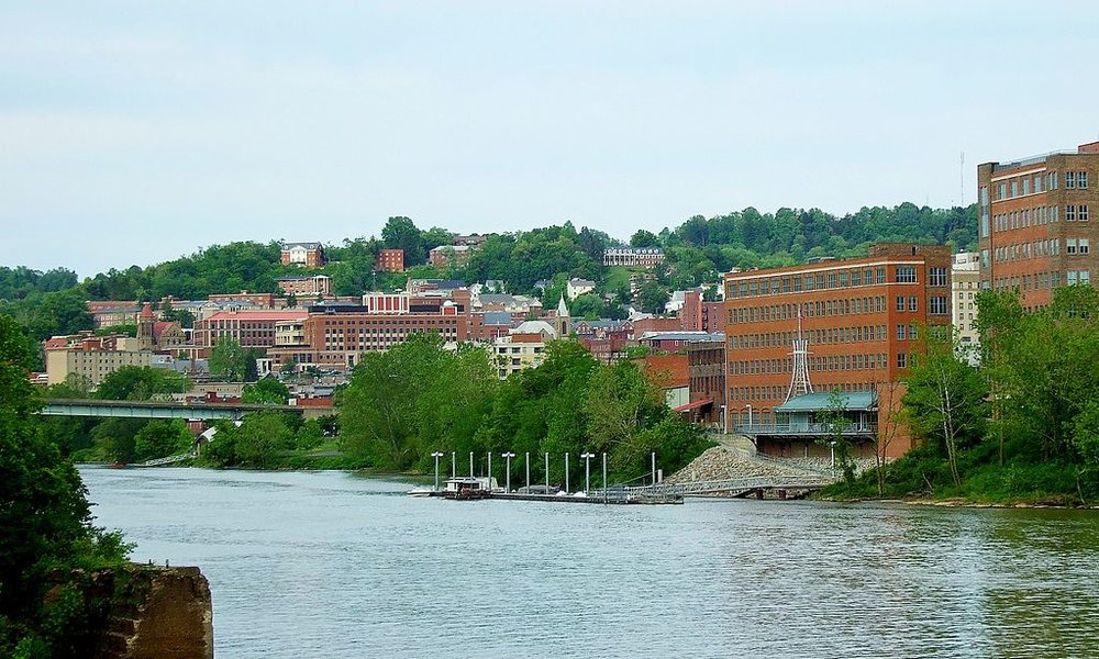 Morganton, WV. (Image from Wikimedia)