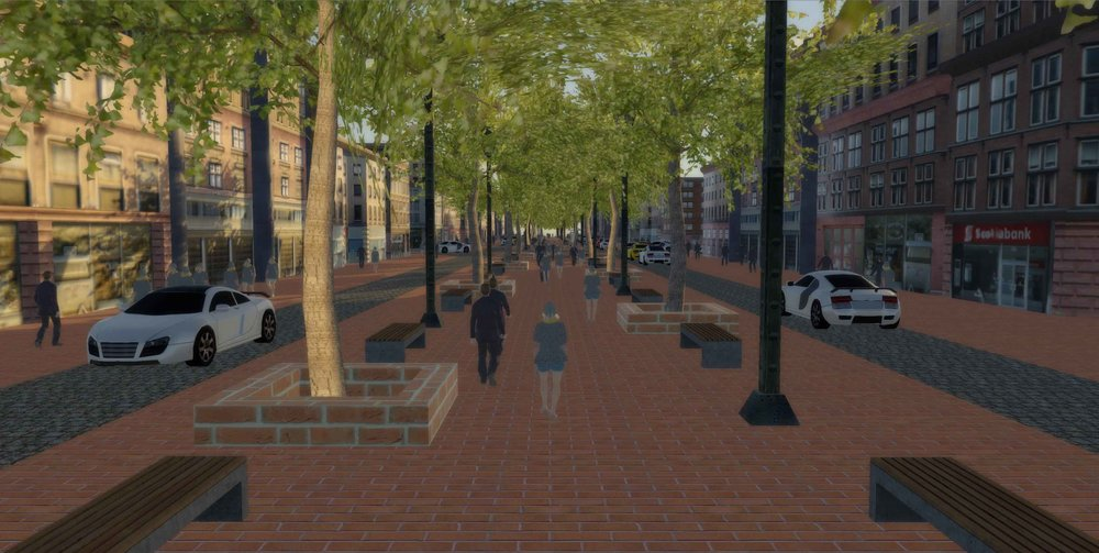 My Washington Street fantasy redesign.