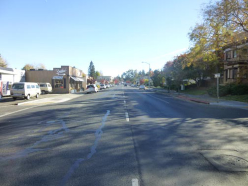Looking South on Main Street (at Calder)