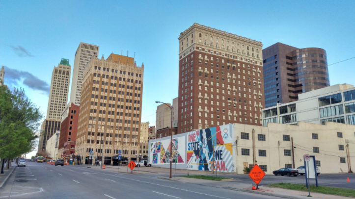 Tulsa downtown. Source: Mike Christiansen