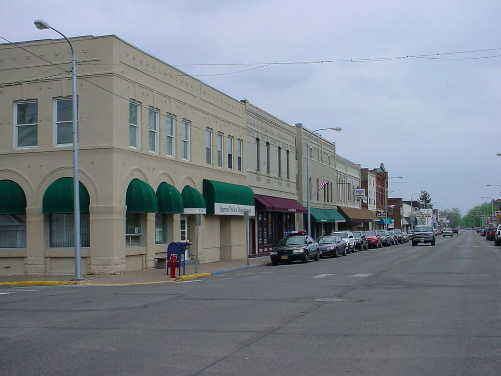 Main Street, Barron, WI (Source: WCWRPW