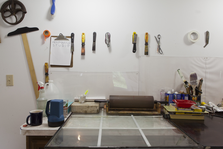Printmaking studio (Source: Paul ArtSpace)