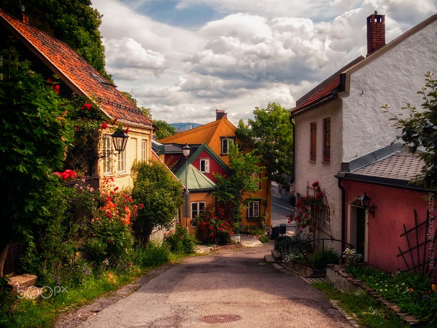Damstredet St, Oslo, Norway  (Source)