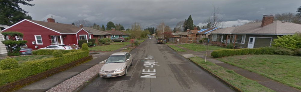 Homes in Northeast Portland. (Photo from GoogleMaps)