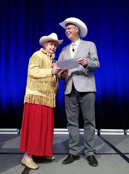 Chuck Marohn is made an honorary citizen of Calgary, AB.