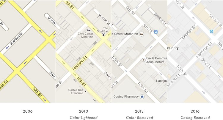 Google Maps has Shifted Focus Toward Destinations and away