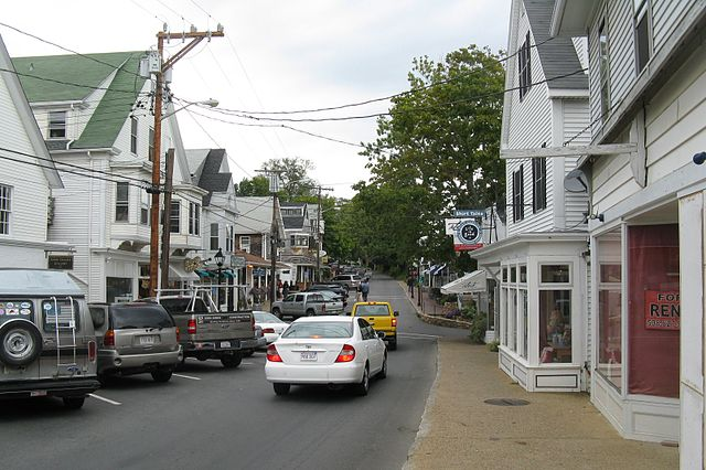 Vineyard Haven, a town in Martha's Vineyard. (Photo by John Phellan)