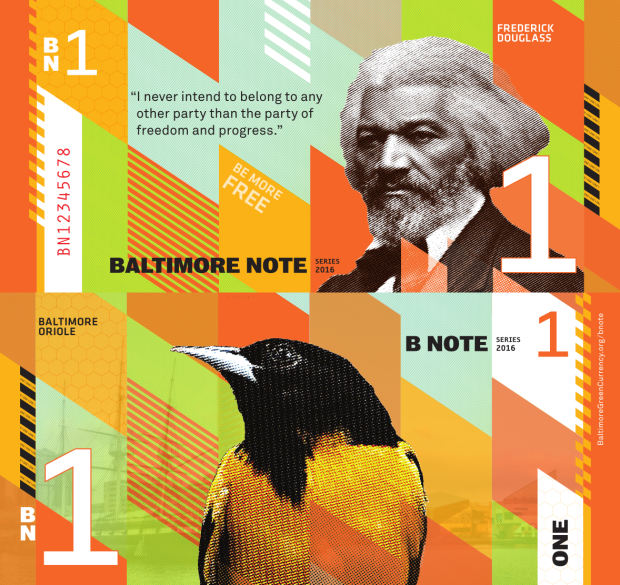 BNotes (Source:  BaltimoreGreenCurrency.com )