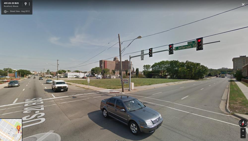 Demolished in 2009. (Image via Google Maps)