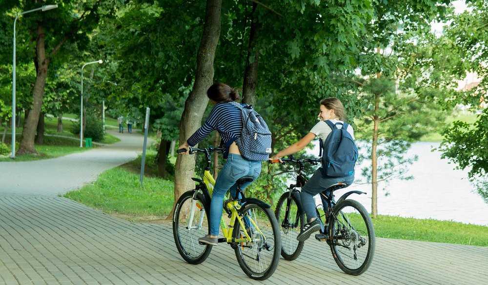1. In your town, is it safe for children to walk or bike to school? -