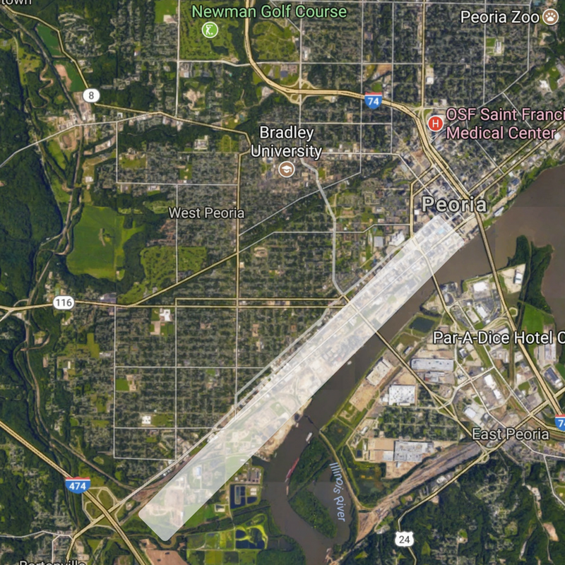 Keep this image in mind because it will be important later. (Source: Google Maps)