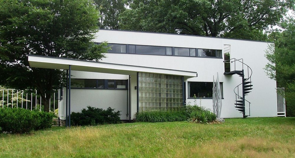 Gropius House,  Photo from Wikipedia.
