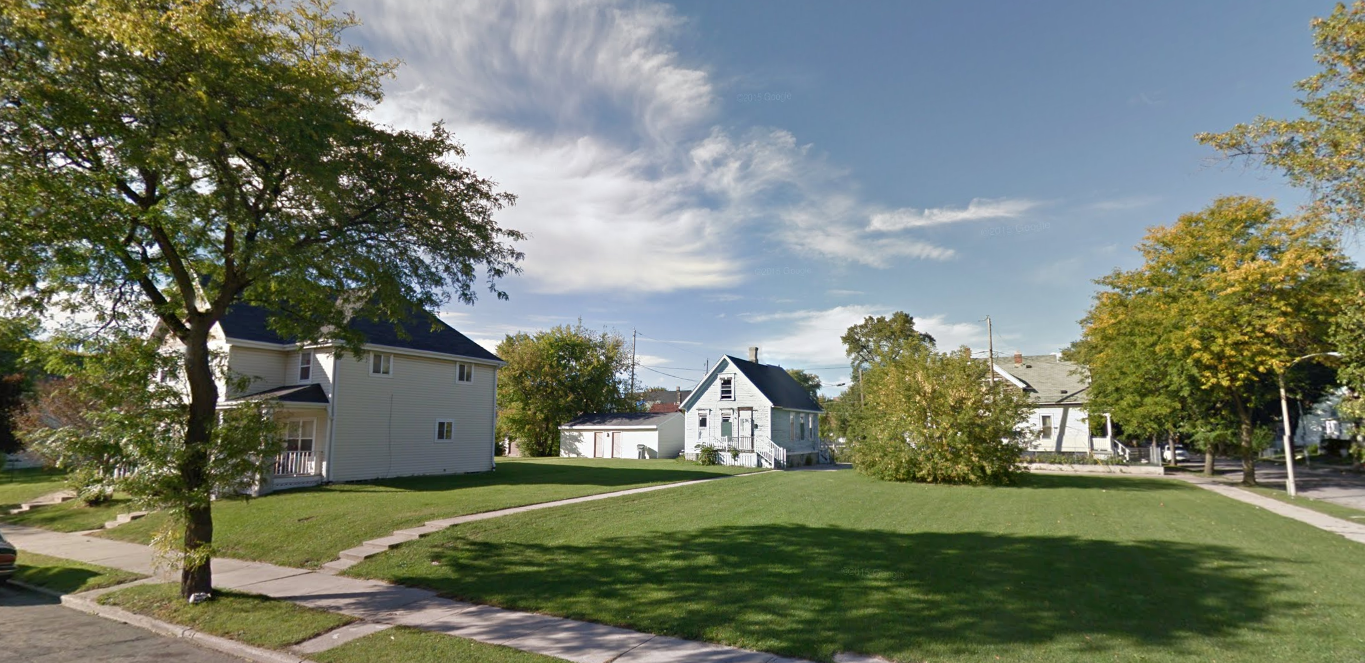 Empty lots in Milwaukee. (Source: Google Maps)
