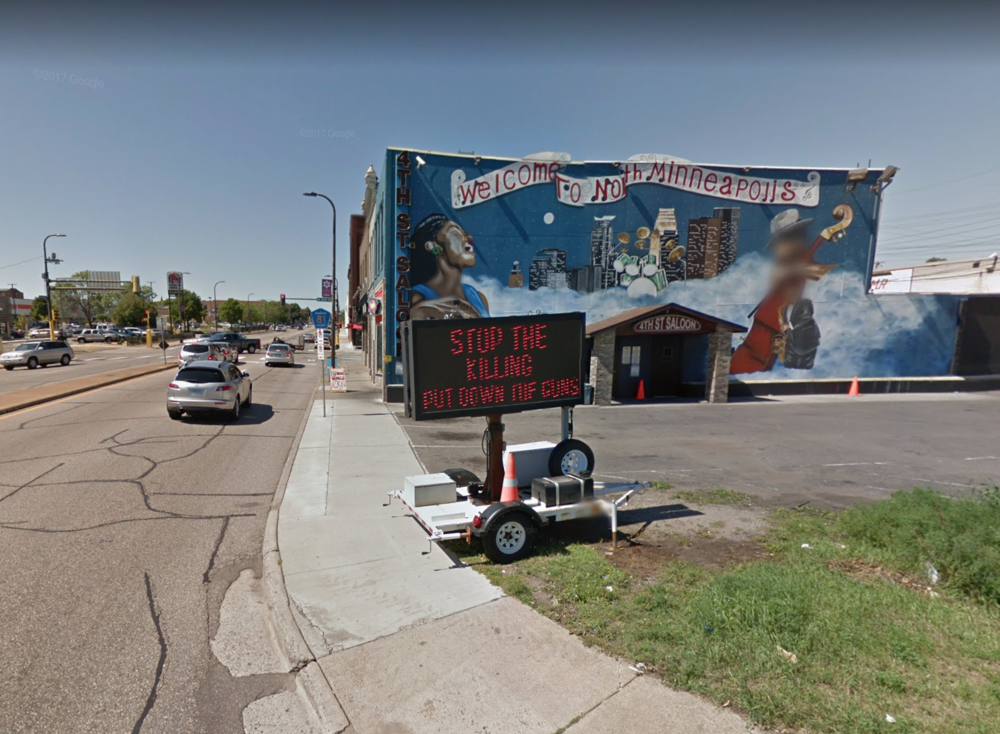 West Broadway Ave., the gateway to North Minneapolis. (Source: Google)