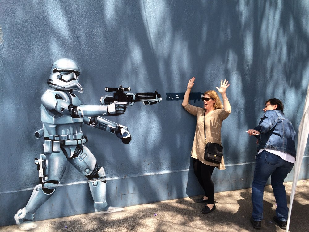 Stormtrooper surprise in Mexico City (Photo by Sarah Kobos)