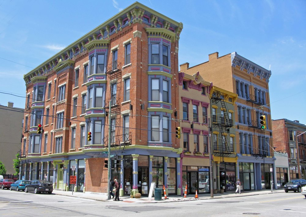 Over-the-Rhine, Cincinnati. (Source: Wikimedia Commons.)