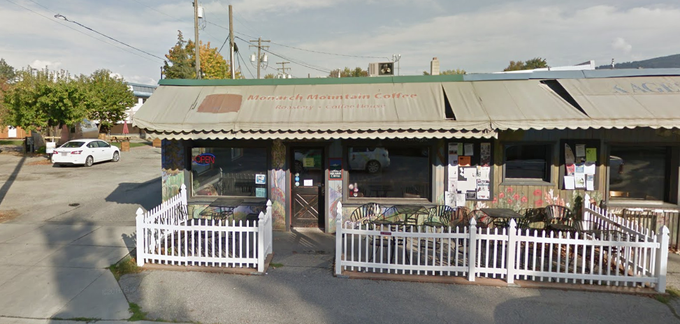 Monarch Mountain Coffee, saved from the wrecking ball (Source: Google Maps)