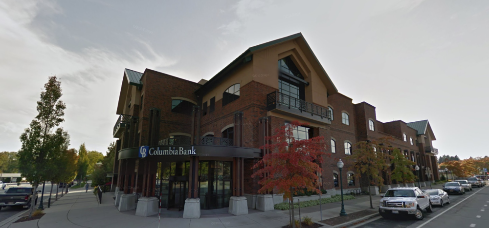 The new Columbia Bank building (Source: Google Maps)