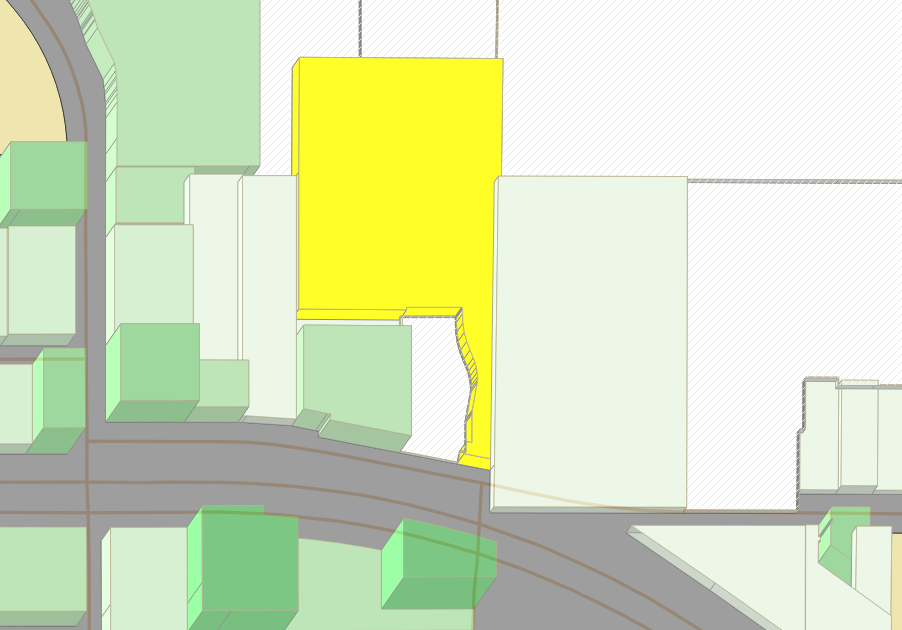 Target (in yellow)