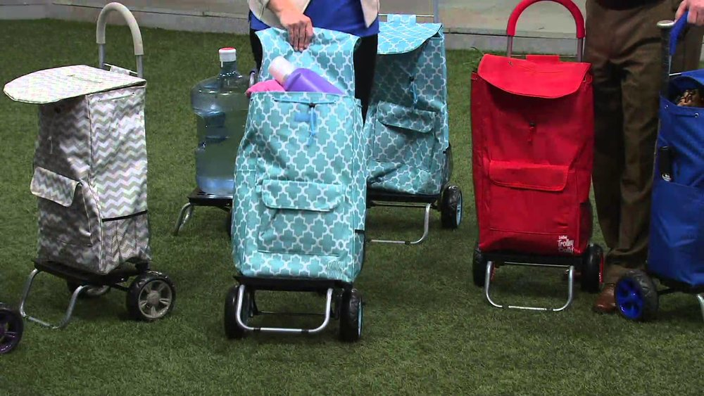 A trolley dolley. ( QVC )