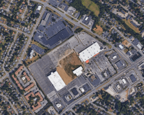 The defunct Turland Mall in Lexington could get a new lease on life thanks to zoning changes. (Source: Google Maps)