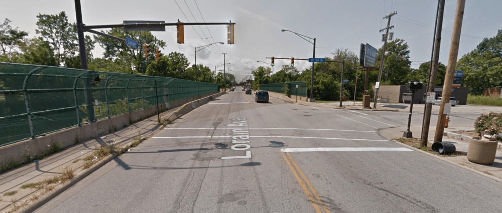 A section of Lorain Avenue that could stand to be a lot more people oriented and a lot less car-centric. (Source: Google Maps)