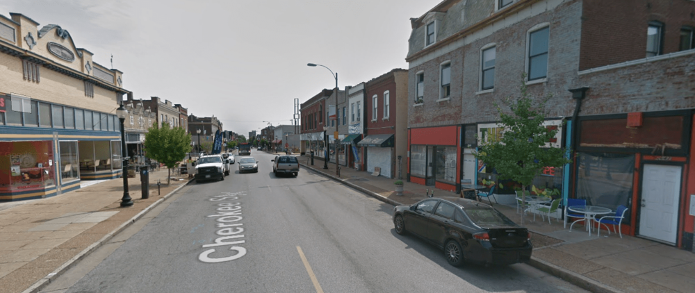 Cherokee Street in St. Louis (Source: Google Maps)