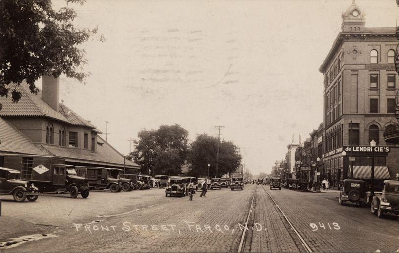 Main, 1931 (Source: City of Fargo)