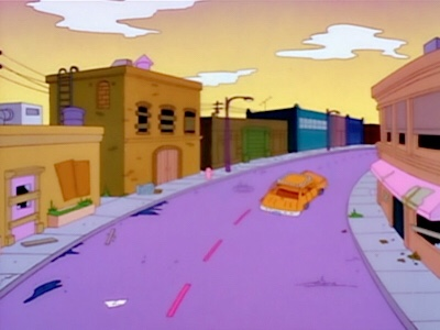 The sad scene in North Haverbrook, after investing in Monorail