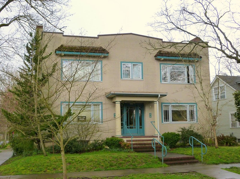Just a litte fourplex in Portland, minding its own business, not bothering anybody. (Source: Ian Poellet)