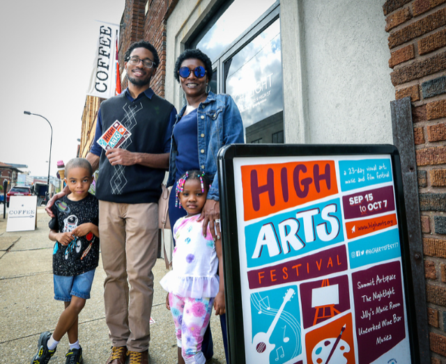 Akron is leveraging its strong arts scene to add visual interest and engaging activities in almost every neighborhood. (Source: Jeff Klaum / Akron Stock)