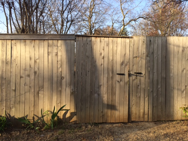 Behind every privacy fence is a neighbor you'll never meet. (Photo by Sarah Kobos)