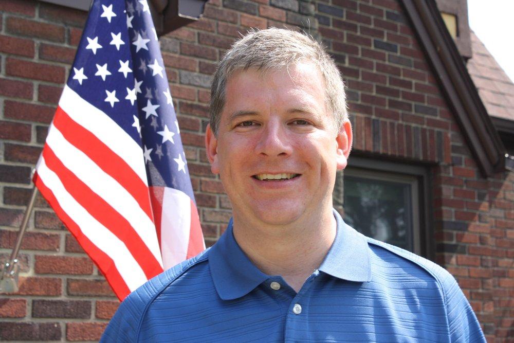 Mayor Lou Radkowski (Photo by Elena Radkowski)