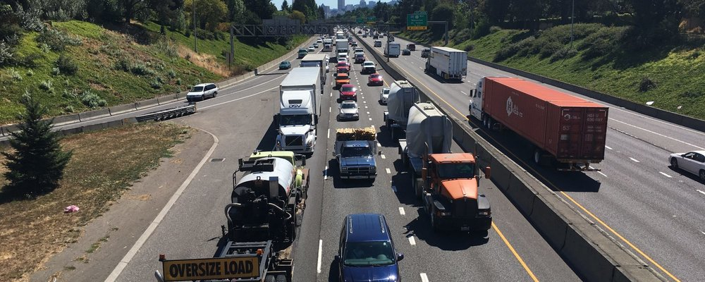 The current freeway (Source: No More Freeways PDX)