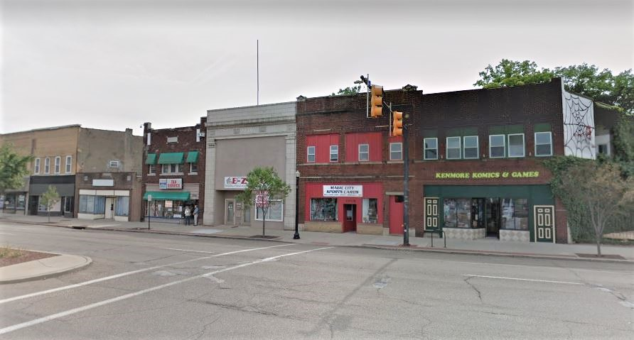Kenmore Boulevard is home to many small businesses, a number of which have been located here for many years.
