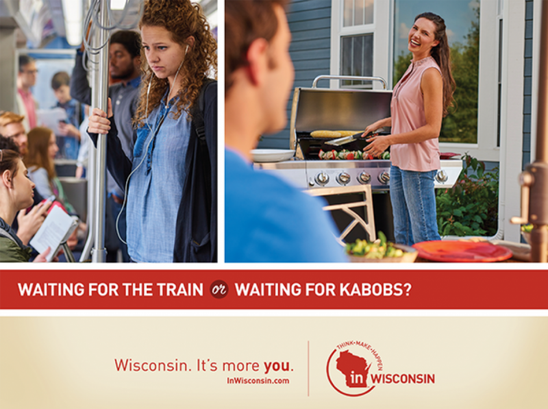Ad from the Wisconsin Economic Development Corporation