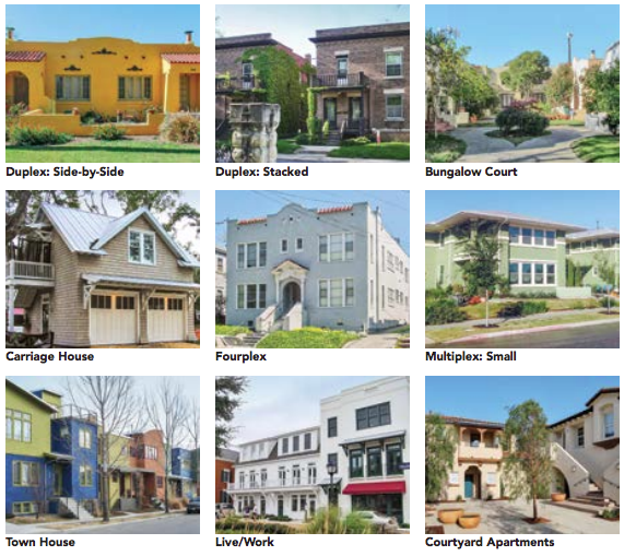 These housing options blend easily with existing residential neighborhood but offer more affordable, accessible and easier to manage homes for seniors. (Source:  AARP's  Where We Live: Communities for All Ages  )