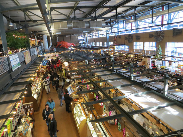 Inside the Milwaukee Public Market (Source: David Wilson)