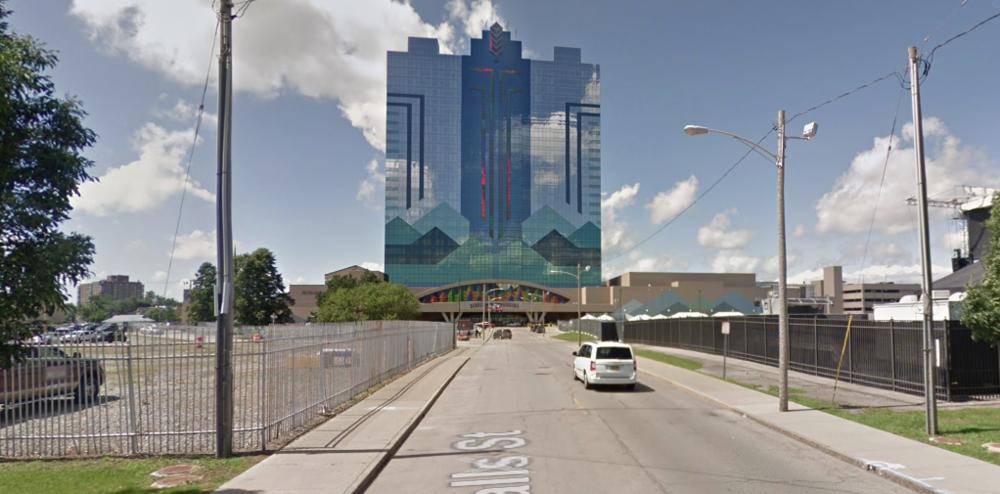 Downtown Niagara Falls today (Source: Google Maps)