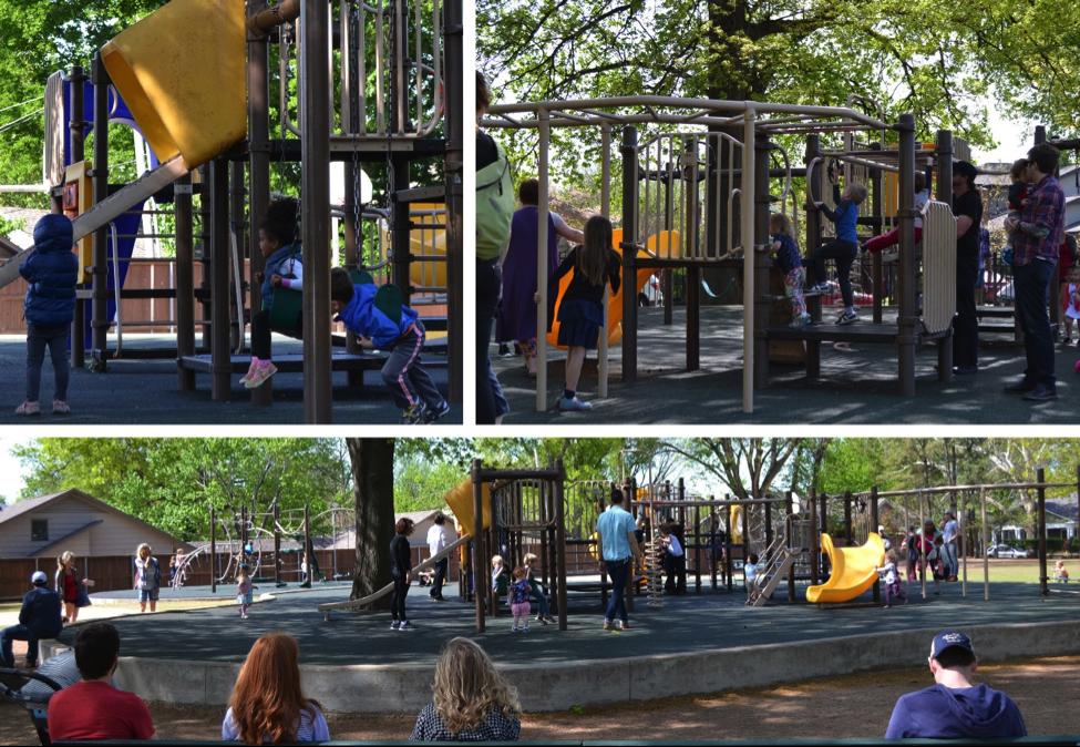 Playground at Christ the King Parish, Tulsa, OK