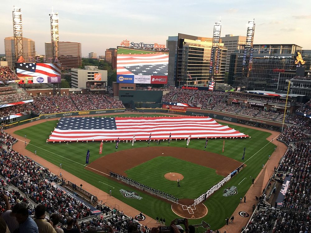 The new Atlanta Braves Stadium, SunTrust Park (Source:  Thechased )