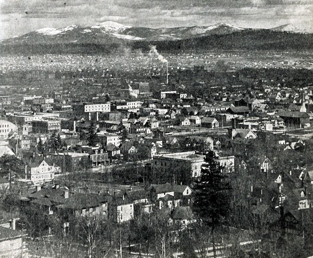 Spokane in 1914