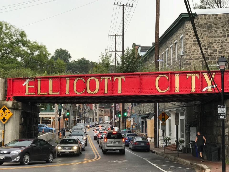 Historic Ellicott City.