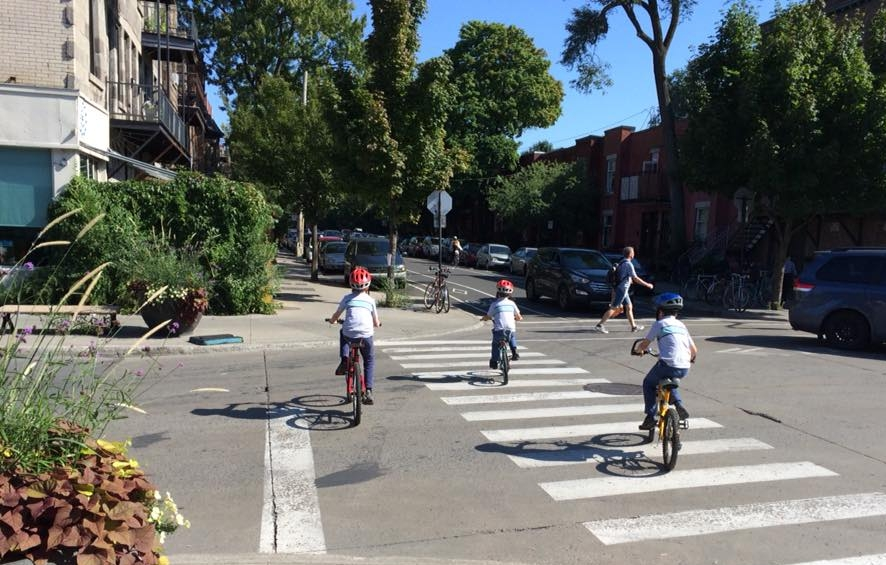 Streets that are safe for kids are safe for everyone. Photo by Sarah Kobos