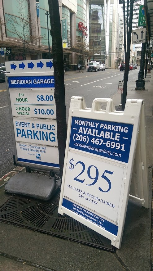 Is high priced parking fair to the poor?