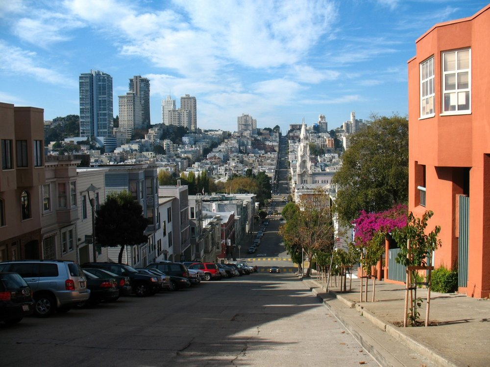 High-rises in San Francisco amid a broader area of low-rise development ( Image: PxHere via Creative Commons License)